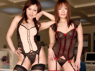 Charming asian hotties